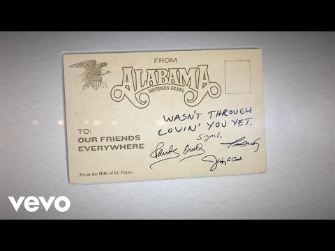 Wasn't Through Lovin' You Yet Lyric Video