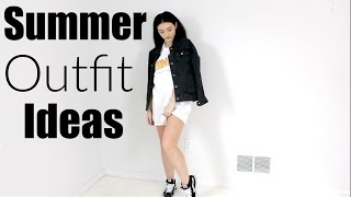 Summer outfit ideas!   OOTW July
