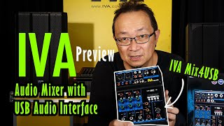 Preview IVA Mix4USB Mini Mixer with USB Audio Interface