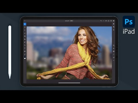 Photoshop on iPad for Beginners   FREE COURSE - YouTube