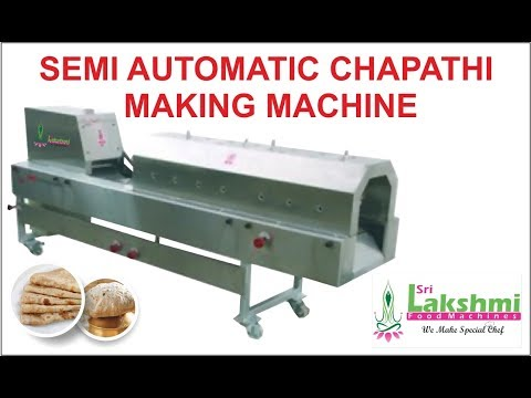 Semi Auto Chapati Machine