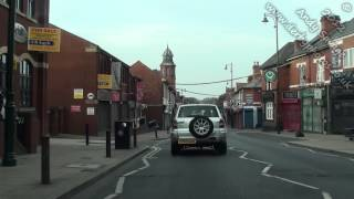 preview picture of video 'Normanton Road Derby, clear and quick journey. August 2012. Derby streets by car In HD.'