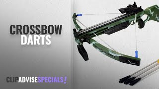 Top 10 Darts Crossbow [2018]: Toy Crossbow Set Deluxe Action Military Toy Crossbow Suction Dart