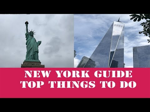 What to do in New York / Manhattan NYC Fun things to do / Travel Guide 2019