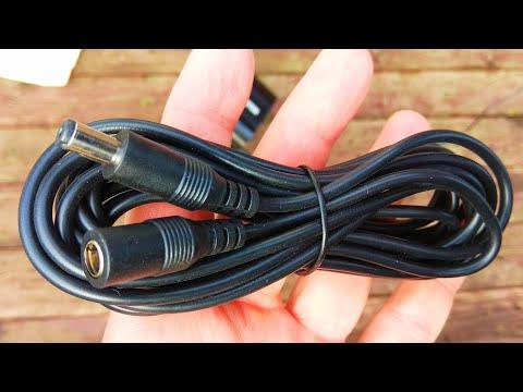 Удлинительный кабель питания постоянного тока / DC power extension cable