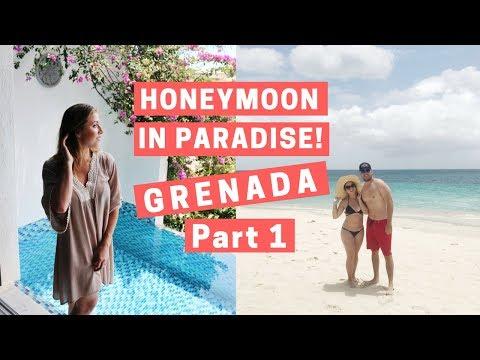 GRENADA HONEYMOON PT ONE: SANDALS LA SOURCE AND GRAND ANSE BEACH   BRYCE & STEFANIE