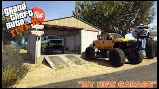 GTA 5 ROLEPLAY - MY NEW GARAGE AND TRUCK REPAINT - EP. 170 - CIV