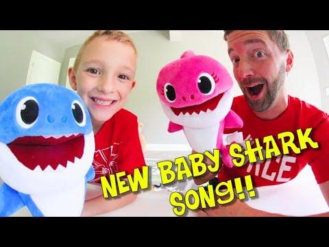 Father & Son NEW BABY SHARK SONG! / Do Do Do!