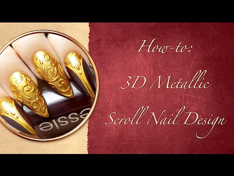 How To:  3D Metallic Scroll Design Mp3