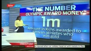 The Number; contrast between award for gold medal in Kenya and Berlin