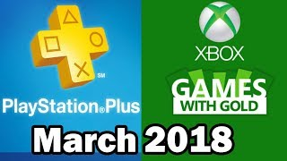 PS4 and XBOX ONE Free Games March 2018