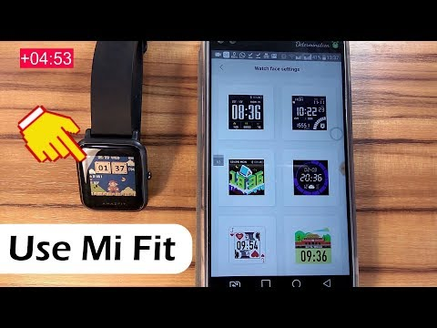 How to Install Amazfit Bip Custom Watch Face Using Mi Fit