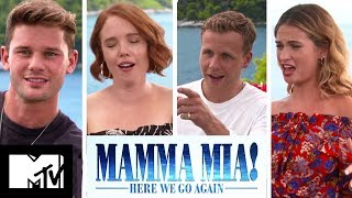 Mamma Mia 2 Cast Talk Mamma Mia 3, Love Island & Deleted Sex Scenes | MTV Movies