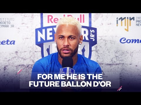 The future best player in the world according to Neymar   Oh My Goal