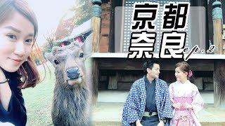 大阪VLOG EP.2: 京都 | 清水寺和服體驗 奈良餵鹿鹿 !