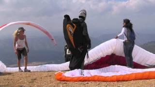 preview picture of video 'Campionat del Món de Parapent 2011 Àger'