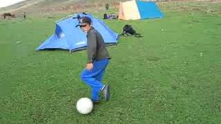 preview picture of video 'Arslanbob - little soccer heroe'