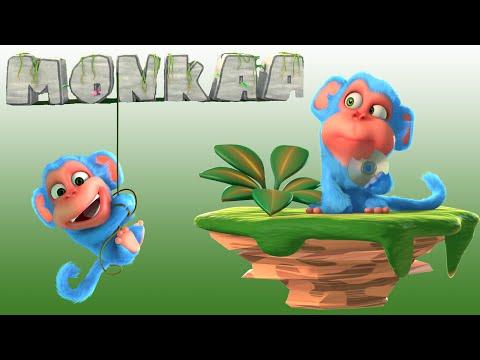 Short Animation Movie - Monkaa Blender Cartoon Film