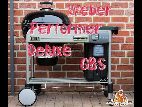 WEBER Performer Deluxe GBS Holzkohle Kugelgrill unboxing und Aufbau - #tobiasgrillt