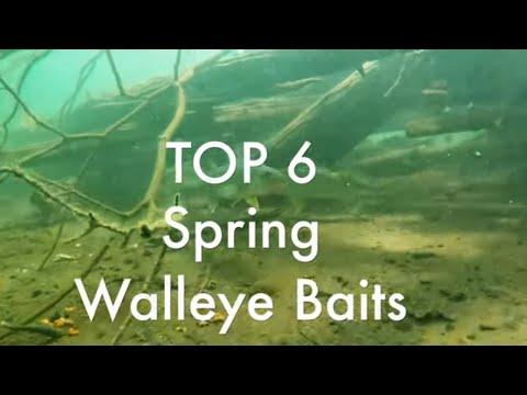 Top 6 Baits for Spring Walleye Fishing | Walleye Fishing Tips 2019 by Piscifun