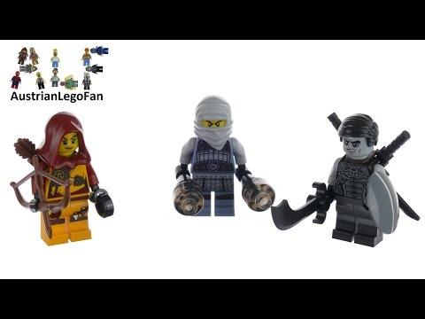 Vidéo LEGO Ninjago 853687 : Ensemble d'accessoires LEGO Ninjago