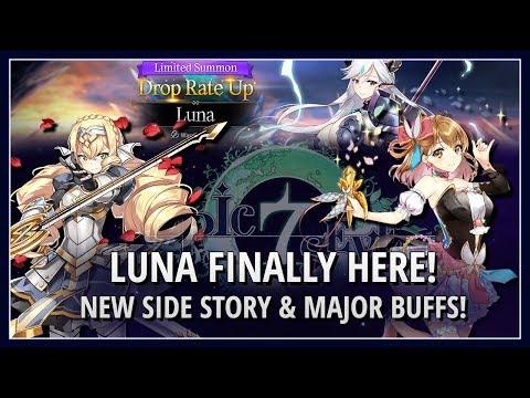 Epic Seven: 2/13 LUNA!/Tamarinne Changes/Bellona Side Story/Mages