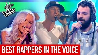 Gambar cover The Voice | BEST RAP Blind Auditions worldwide [PART 1]