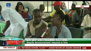Imo State Governorship Election Result Collation Pt.1 |The Verdict|