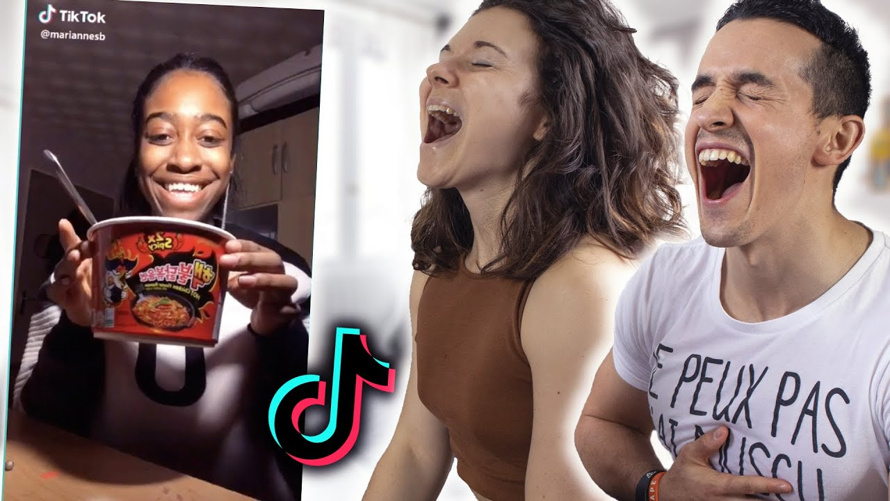 Essaie de ne pas rire en couple (TikTok challenge)