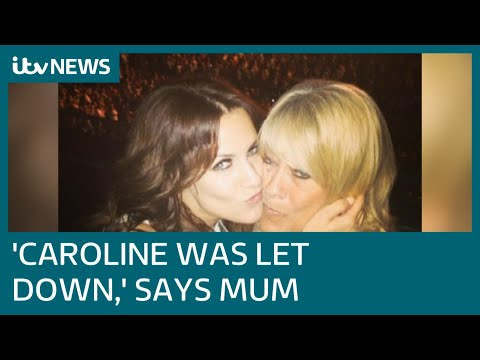 Caroline Flack's mum says she was 'hounded' and 'let down' by officials | ITV News