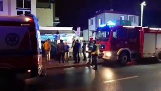 Pięć ofiar pożaru w tym dzieci, w Escape Room w Koszalinie!