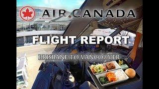 Gambar cover Full Flight Report - AIR CANADA B787 - BRISBANE to VANCOUVER