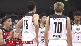 千葉ジェッツvsアルバルク東京 B.LEAGUE第6節GAME1Highlights 10.29.2016プロバスケBリーグ
