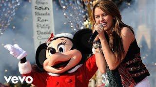 Miley Cyrus - Santa Claus Is Coming to Town (Live at Disney World Christmas Parade)