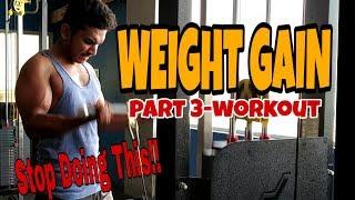 Weight Gain Part 3   Workout Program   Jackson Samuel.