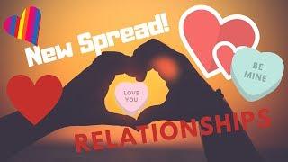 Relationship Spread - Lenormand, Kipper, Tarot, Gypsy Cards