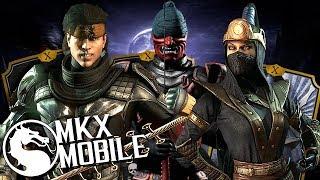 КОМАНДА РОНИНОВ! СУМАСШЕДШИЙ УРОН! ОБНОВЛЕНИЕ 1.20 в Mortal Kombat X Mobile