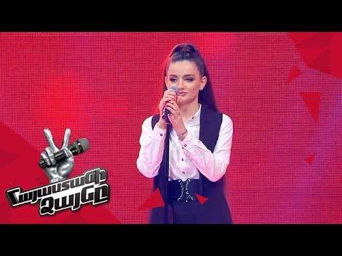 Julietta Tavrizyan sings 'Кукушка' - Blind Auditions - The Voice of Armenia - Season 4