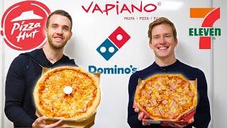 DET STORA PIZZATESTET | Vilken kedja gör bäst pizza?