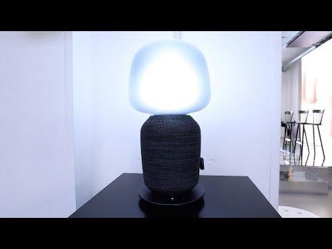 IKEA und Sonos stellen SYMFONISK Lautsprecher-Lampe vor