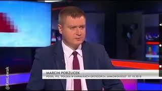 """Włodzimierz Czarzasty do Marcina Porzucka(PiS) : """"Wyjdziemy z tego studia, to po prostu Panu przywalę"""" 👊"""