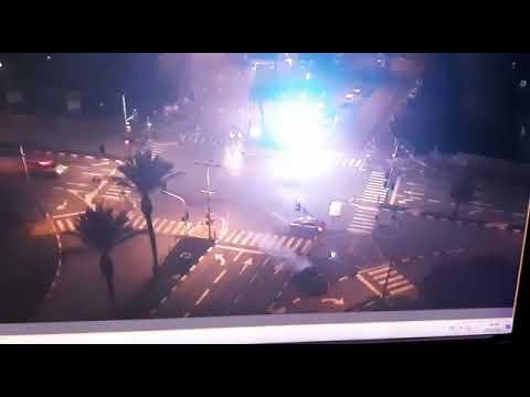 צפו: התאונה שקטעה את המרדף