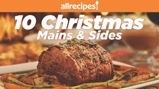 10 Christmas Main and Side Dishes | Holiday Dinner Recipes | Allrecipes.com - Download this Video in MP3, M4A, WEBM, MP4, 3GP