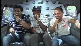 VW Salão do Automovel 2010 - Kombioke - Nelson, Anderson e Wallace