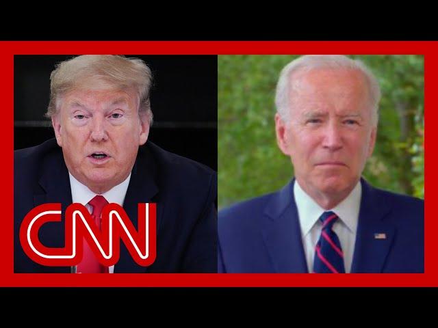 Joe Biden: Trump's protest comments 'thoroughly irresponsible'