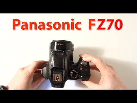 Panasonic Lumix DMC FZ70 bridge camera superzoom