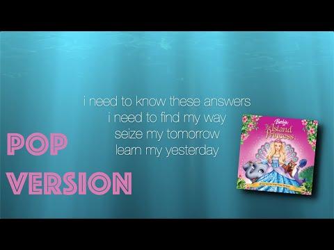 I Need to Know - Pop Karaoke - Barbie Island Princess
