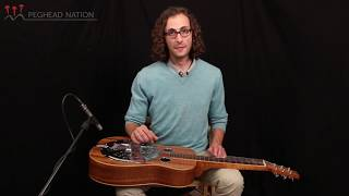 """""""Amazing Grace"""" Lesson, from Beginning Dobro with Mike Witcher"""