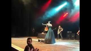 Tarja Turunen - Still Of The Night part 1 live @ Via Funchal, São Paulo - 05.04.12