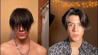 MIDDLE PART/EBOY HAIR TUTORIAL